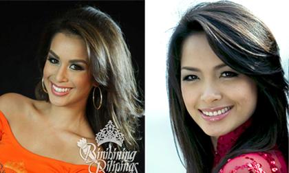 Thí sinh HH Philipines 2012 giống siêu mẫu Thúy Hạnh đến ngạc nhiên