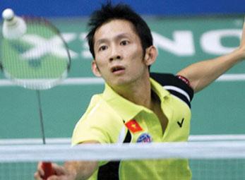 Giải VĐ cầu lông châu Á 2012: Tiến Minh bị loại ở vòng 3