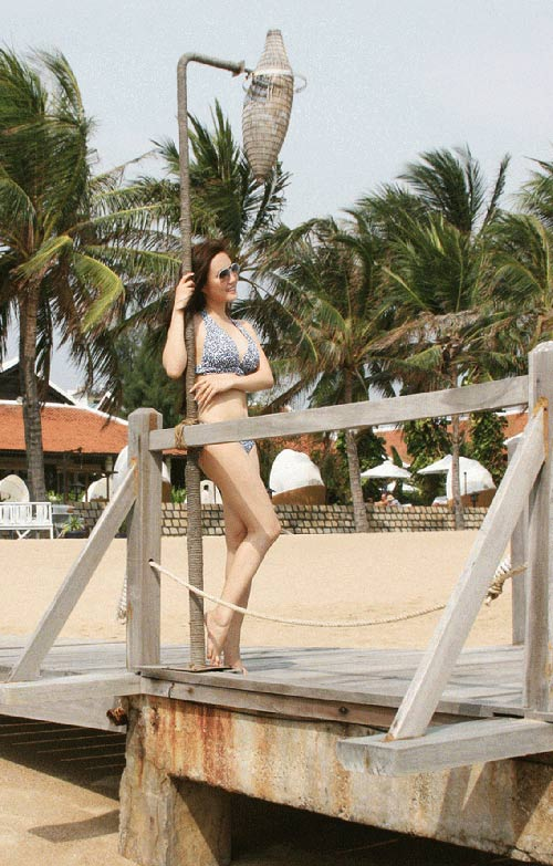 Sao Việt diện bikini (kỳ 4): Vy Oanh