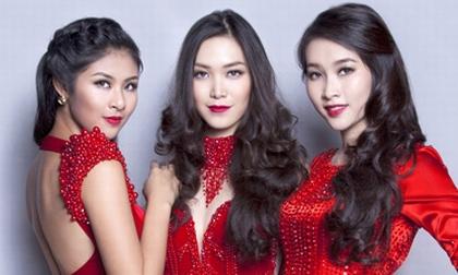 Ba Hoa hậu Việt Nam lần đầu đọ sắc trực tiếp