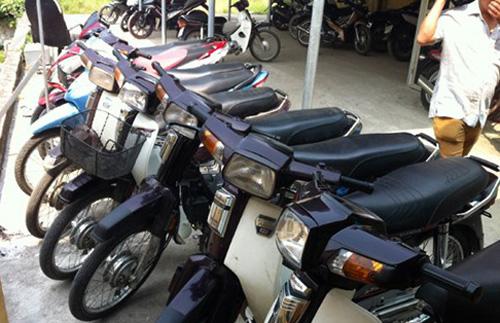 Băng trộm cắp xe máy liên tỉnh lĩnh án