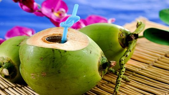 Những người uống nước dừa là sinh bệnh