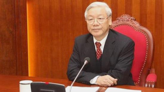 Tổng Bí thư: Khẩn trương điều tra vụ án xảy ra tại Ngân hàng TMCP Xây dựng VN, không chịu bất kỳ sức ép nào