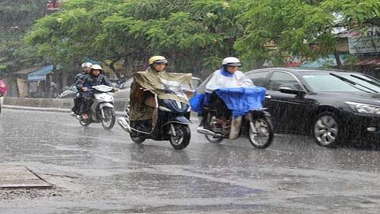 Dự báo thời tiết ngày 8/6: Bắc Bộ có mưa dông, nhiệt độ giảm mạnh