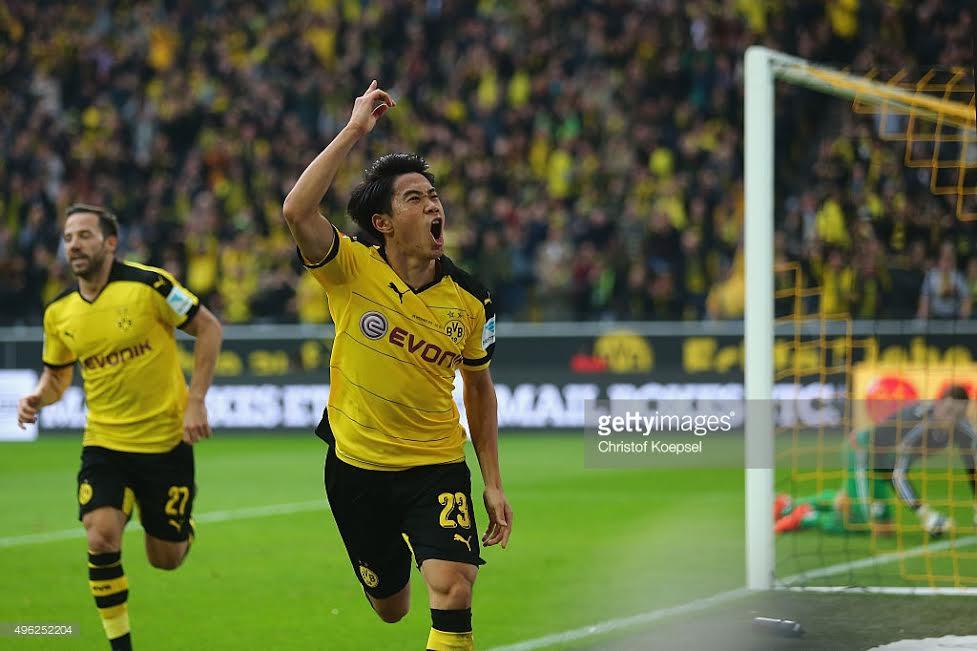 Kagawa lập cú đúp, Dortmund đá bại Trier