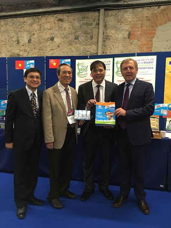 Sữa IZZI của Hanoimilk đoạt giải thưởng Công nghiệp thực phẩm toàn cầu
