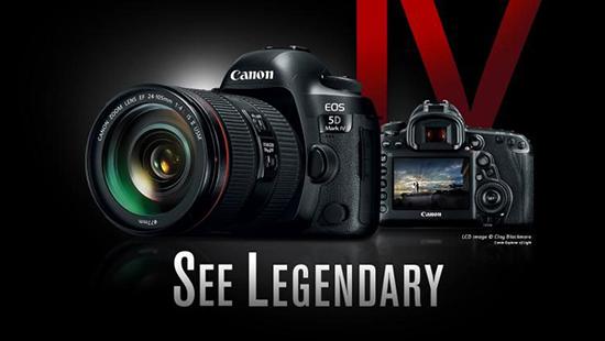 Canon trình làng EOS 5D Mark IV cho giới chuyên nghiệp