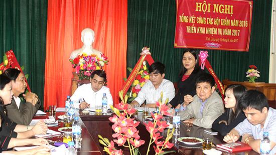 TAND huyện Vĩnh Linh tổng kết công tác Hội thẩm nhân dân