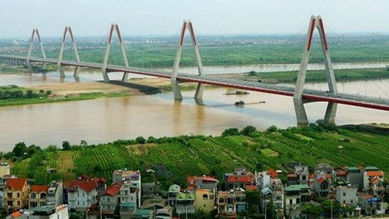 Hà Nội quy hoạch đô thị hiện đại hai bên sông Hồng