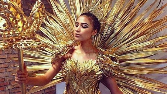 Vừa tuyên bố giải nghệ, Nguyễn Thị Thành lọt top 2 trang phục đẹp nhất Miss Eco