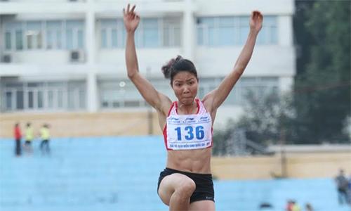Bùi Thị Thu Thảo giành HC vàng nhảy xa nữ Grand Prix châu Á