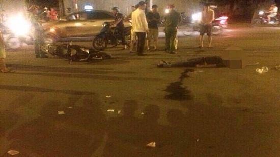 Hà Nội: Va chạm giao thông, một người tử vong tại chỗ