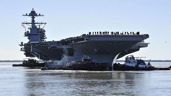 Siêu tàu sân bay trọng tải 100.000 tấn - Niềm tự hào mới của nước Mỹ