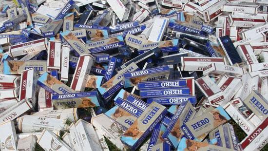 Tăng cường kiểm tra, xử lý nghiêm buôn lậu thuốc lá