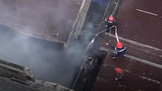 TP. HCM: Cháy cửa hàng bán sơn, một người thiệt mạng